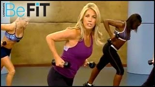 getlinkyoutube.com-Boot Camp Cardio & Strength Workout With Denise Austin