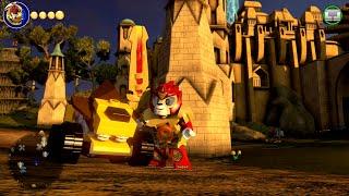 getlinkyoutube.com-LEGO Dimensions - Laval Free Roam Gameplay on Legends of Chima World