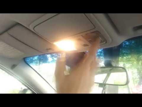 Замена лампочки в салоне автомобиля хонда аккорд 7