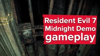 getlinkyoutube.com-Here's a Resident Evil 7 Midnight demo full playthrough - new PS4 gameplay