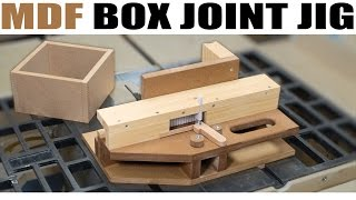 getlinkyoutube.com-How To Make The Advanced Box Joint Jig (from MDF)