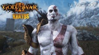 getlinkyoutube.com-Kratos God of War 3 Mod Skyrim