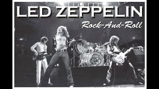 ROCK AND ROLL - LED ZEPPELIN  karaoke version ( no vocal ) lyric instrumental