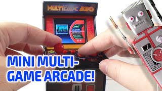 getlinkyoutube.com-MINIATURE MULTICADE 230 ARCADE MACHINE! Really Works!