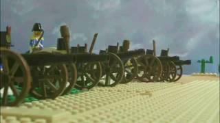 getlinkyoutube.com-LEGO ALAMO STOP MOTION BATTLE