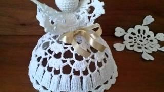 getlinkyoutube.com-Anielska kolekcja II AD 2014 Crochet Angels II