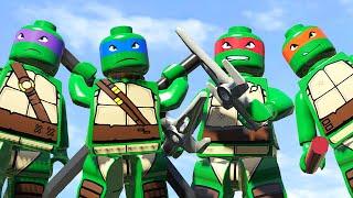getlinkyoutube.com-ЧЕРЕПАШКИ-НИНДЗЯ в LEGO Marvel Super Heroes