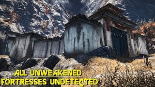 getlinkyoutube.com-Far Cry 4 - ALL UNWEAKENED fortresses undetected killer stealth conquests ( GTX 980 OC + 4790k OC )