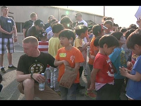 AFN Osan - AFN Korea Update - House of Dreams Orphanage visits Suwon Air Base