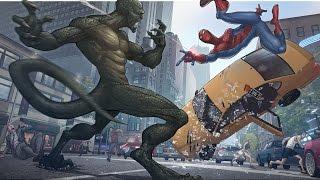 Spider Man vs  Rhino Ending  - The Amazing Spider Man 2 2014 - Real Life Spiderman Movie