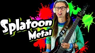 "getlinkyoutube.com-Splatoon Metal | Main Theme Rock Cover ""Splattack!"" | Srod Almenara | スプラトゥーン"