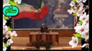 دفاع جانانه و جالب صادق زیبا کلام از جمهوری اسلامی ایران  درخارج ازکشور