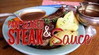 getlinkyoutube.com-How to Pan Sear a Steak and Make Pan Sauce with the Drippings