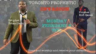 getlinkyoutube.com-Prophets Carn & Danso 2-8 Worshipping Prophesying Deliverance Toronto
