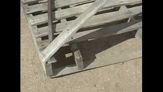 getlinkyoutube.com-Bust the pallet not your back, dismantle it the easy way.