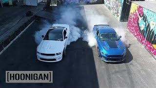 HOONIGAN-DT-073-750HP-Roush-RS3-2017-Mustang-VS-550HP-06-Mustang-w-Justin-Pawlak width=