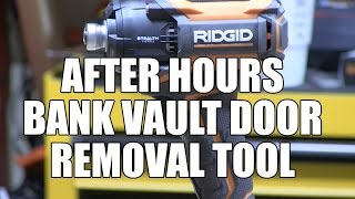 getlinkyoutube.com-RIDGID Quiet Brushless Stealth Force Impact Driver - R86036