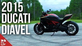 2015 Carbon Ducati Diavel | First Ride