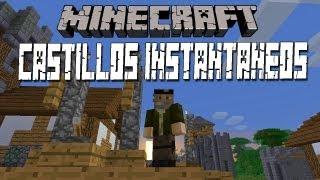 getlinkyoutube.com-CASTILLOS INSTANTÁNEOS!! - MINECRAFT MOD