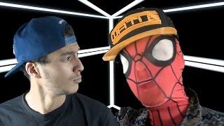 getlinkyoutube.com-SPIDERMAN feat Kev Adams CLASH LES AVENGERS (Parodie Black M - ALADIN)
