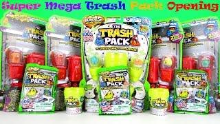 getlinkyoutube.com-THE TRASH PACK 5 SERIES SURPRISE TOYS BLIND BAGS EGGS Super Palooza Unboxing Multipacks Video