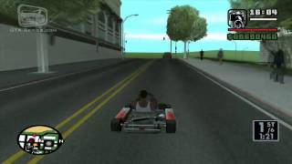 getlinkyoutube.com-GTA San Andreas - Walkthrough - Street Race - Go-Go Karting (HD)