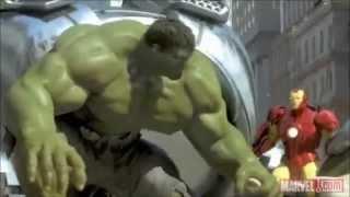 Iron Man,Spider Man And The Hulk