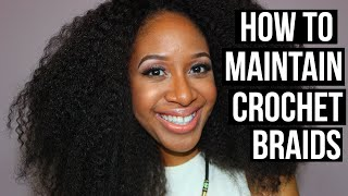 getlinkyoutube.com-How To Maintain Crochet Braids