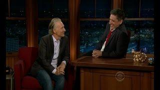 getlinkyoutube.com-Late Late Show with Craig Ferguson 2/21/2012 Bill Maher, Eloise Mumford