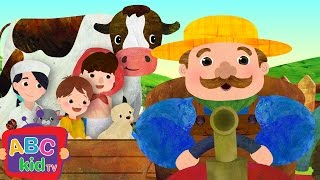 getlinkyoutube.com-Farmer in the Dell | Nursery Rhymes - ABCkidTV
