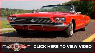1966 Ford Thunderbird Sport Roadster (SOLD)