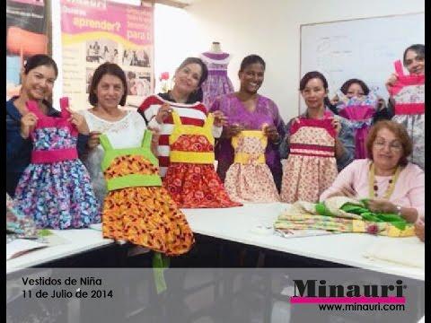 DIY Vestidos de Niña - Curso - Revista - Videos