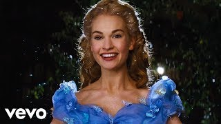 """getlinkyoutube.com-Lily James - A Dream is a Wish Your Heart Makes (from Disney's """"Cinderella"""")"""