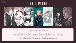 getlinkyoutube.com-[Karaoke Thaisub] BTS (방탄소년단) - Am I wrong