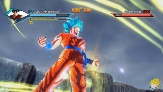 getlinkyoutube.com-Dragon Ball Xenoverse (PC): Goku Transforms into Super Saiyan Blue Gameplay  [MOD]【60FPS 1080P】
