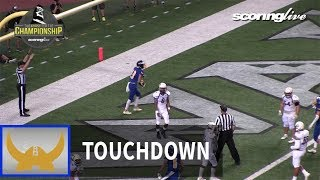 Damien vs. Hilo: Kainalu Tioganco, 5-yd TD pass from K. Apao - HHSAA D1 Championship (2017)