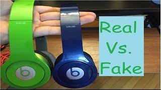 Beats Solo hd's Real vs Fake
