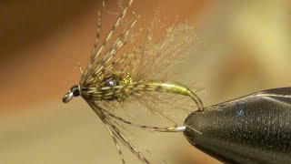 getlinkyoutube.com-Mercers Tungsten Swing Caddis Emerger Fly Tying Instructions