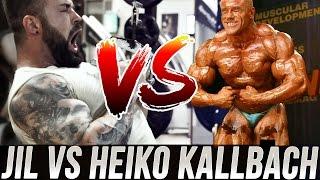 getlinkyoutube.com-Jil goes Fibo 3.0 #2 - Fitness Hipster Jil VS IFBB PRO AD Heiko Kallbach Rücken Stoffer Training