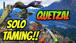 getlinkyoutube.com-Ark: Survival Evolved - Quetzal Solo Taming