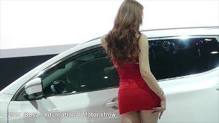 getlinkyoutube.com-2014 부산모터쇼 닛산 캐시카이Qashqai 부스 레이싱모델 이효영 Part2