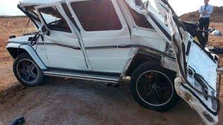 getlinkyoutube.com-Mercedes-Benz Gelandewagen (G-Class) Crash | Аварии Мерседес Гелендваген (Гелик)
