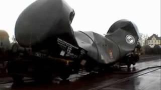 Atmosfera Esmaga Vagão de Trem