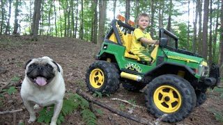 JOHN DEERE OFF ROAD 4X4 JEEP FOR KIDS
