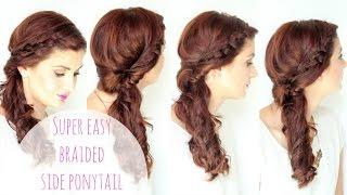 getlinkyoutube.com-Simple Side Braided Hairstyle