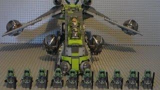 getlinkyoutube.com-Lego Star Wars KASHYYYK GUNSHIP for (2014 Kashyyyk Troopers Battle Pack) 75035