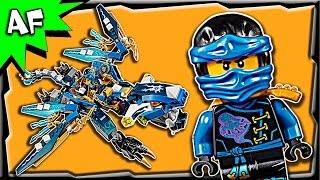 getlinkyoutube.com-Lego Ninjago Jay's Elemental Dragon 70602 Stop Motion Build Review