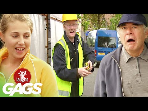 Best of Construction Pranks | Just For Laughs Compilation