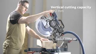 getlinkyoutube.com-Bosch GCM 12 SDE Professional Sliding Mitre Saw