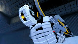 LEGO Dimensions GLaDOS Boss Fight Aperture Science Enrichment Center